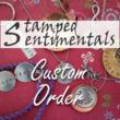 Custom Handmade Jewelry, Design Online with Stamped Sentimentals New Website